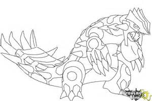 how to draw primal groudon from pokemon drawingnow