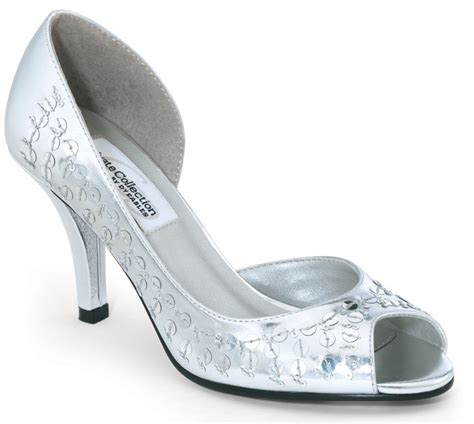 Bridesmaid Shoes by Silver Bridesmaid Shoes Cherry