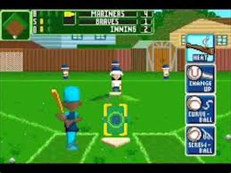 Backyard Baseball Gameboy Advance Backyard Baseball 2006 Gbafun Is A Website Let You Play