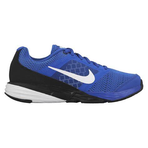 nike boys running shoe nike boys tri fusion run running shoes royal black