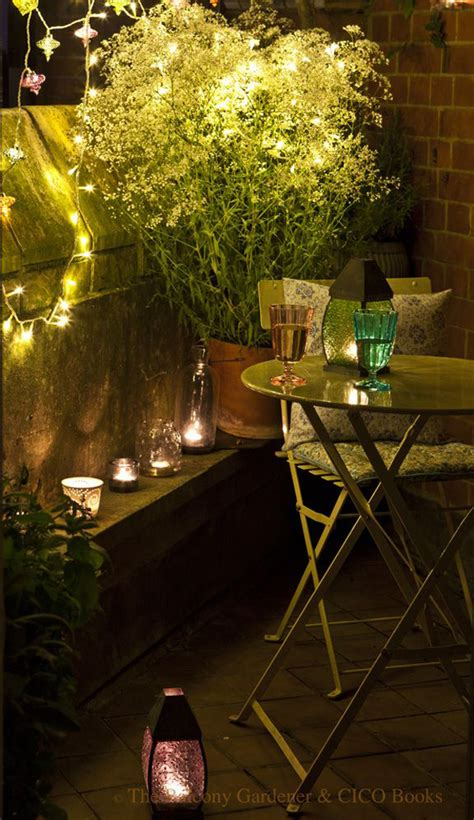 Small Garden Lighting Ideas 15 Small Balcony Lighting Ideas Home Design And Interior
