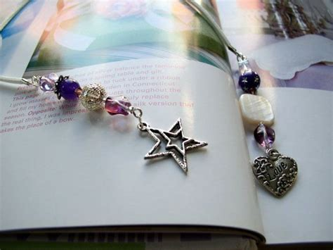 Handmade Beaded Bookmarks - 17 best images about bookmarks ribbon or string on