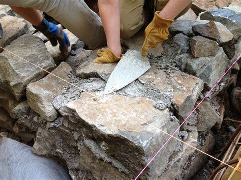 building pit mortar building a foundation this cob house