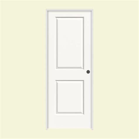 30 Interior Door Jeld Wen 30 In X 80 In Molded Smooth 2 Panel Square Brilliant White Hollow Composite