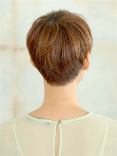 short wedge haircuts back view hairstyle picture magz
