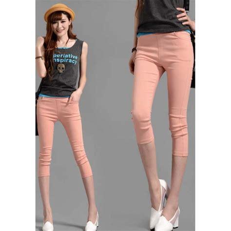 Celana T 3 celana wanita model 3 4 t2426 moro fashion