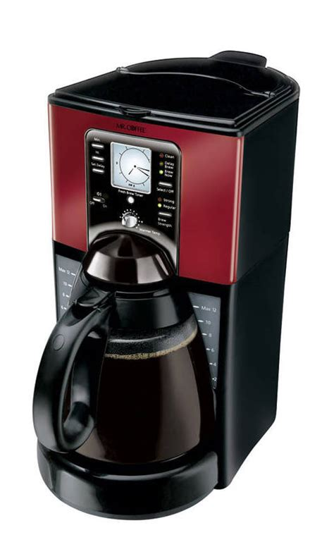 mr coffee 174 performance brew 12 cup programmable coffee