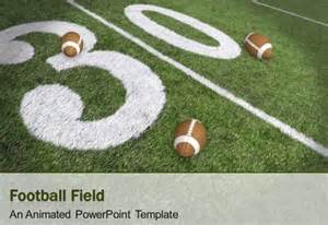 Football Field Powerpoint Template by Animated Football Field Powerpoint Template Powerpoint