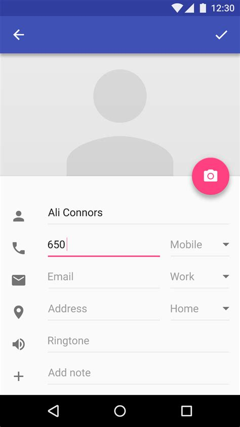 form design help text text fields components material design guidelines