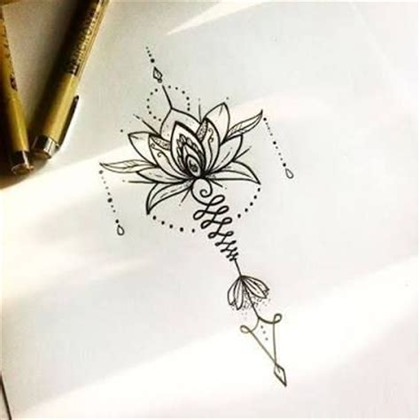 best 25 hippie flower tattoos ideas on pinterest