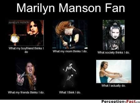 Marilyn Manson Meme - 1000 images about funny music on pinterest brendon urie