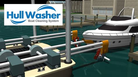 boat hull washer system and invention youtube - Boat Hull Washing Machine