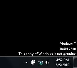 Wallpaper For Not Genuine Windows 7   how to fix windows 7 not genuine error build 7600 7601