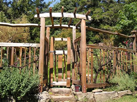 backyard arbor garden arbor with gate autumn weddings pics