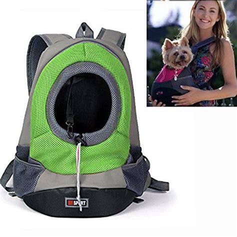 Pet Front Pack Carrier yamay pet carrier front pack carrying backpack zipper