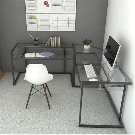 3 piece corner desk ryan rove belmac 3 piece corner c frame l shaped computer desk