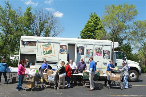 Northern Illinois Food Pantry by Northern Illinois Food Bank Truck Monee
