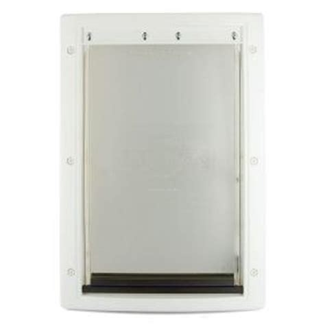 petsafe 13 5 8 in x 23 in x large white plastic pet door