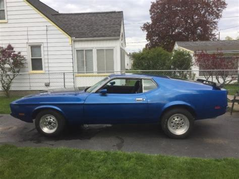 1973 mustang fastback for sale 1973 ford mustang fastback mach 1 with a 429 for sale