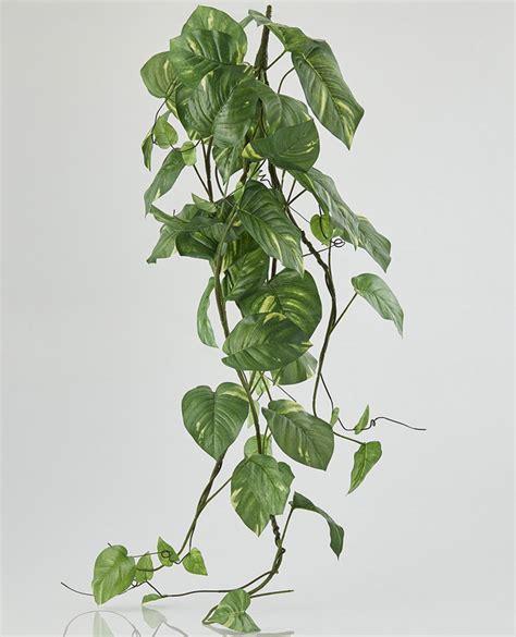 fiori riccione cespuglio di potus fiori e piante artificiali fiori