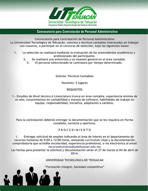 convocatorias de personal moquegua 2016 convocatorias de personal presidencia trabajos h