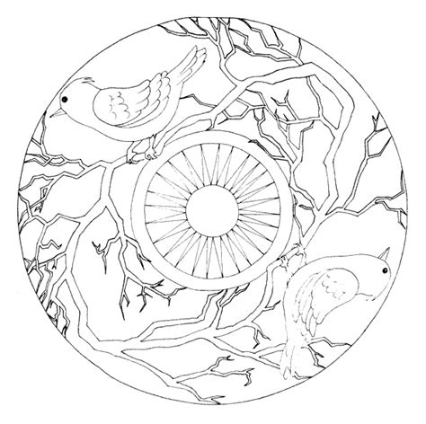 bird mandala coloring pages 1000 images about birds pre crafts on pinterest bird