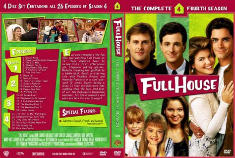 full house season 4 full house season 4 tv dvd custom covers 10081dvd fullhouse s4 dvd covers