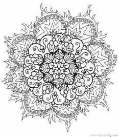 Galerry coloring flower mandalas