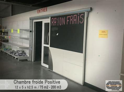 chambre froide positive occasion grande chambre froide positive 0 176 c 4 176 c 200 m3 75
