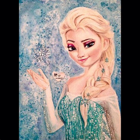 painting elsa image gallery elsa painting