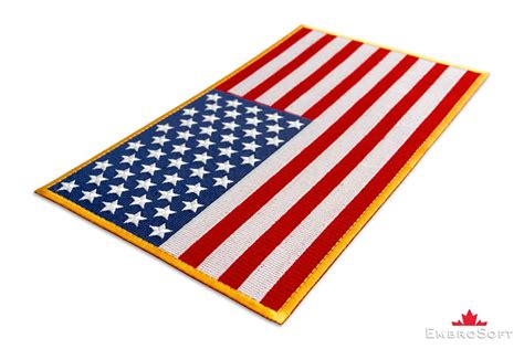 colored flags colored flag of united states of america embroidered patch