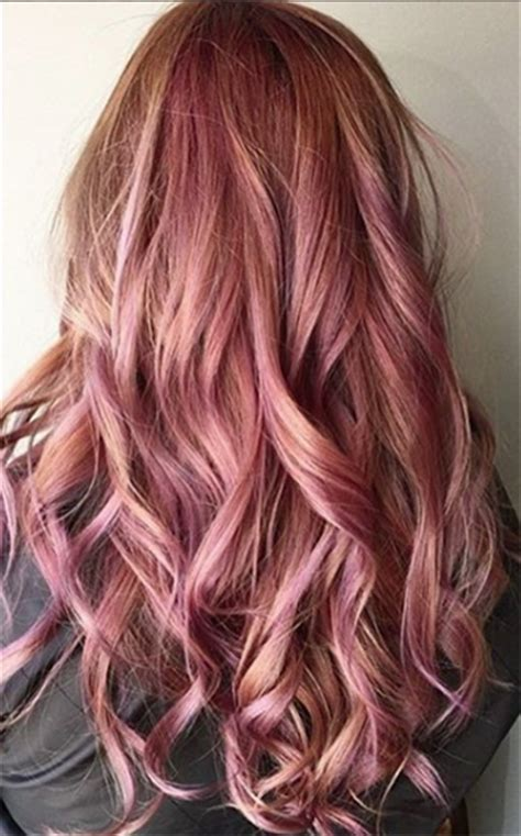 hair color formula stunning rose gold hair ideas of dark rose gold hair color