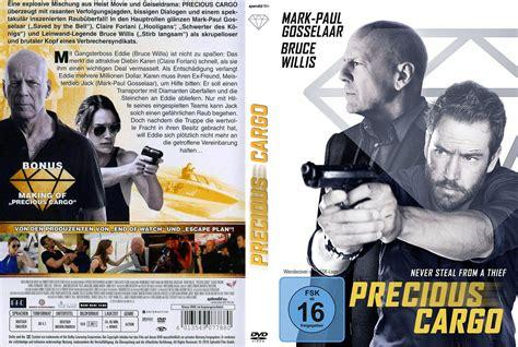 Precious Cargo 2016 Precious Cargo Dvd Cover Label 2016 R2 German Custom