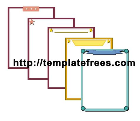 pages templates free printable border templates search results new calendar