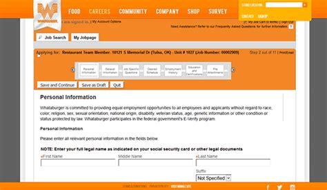 printable job application whataburger whataburger job application apply online