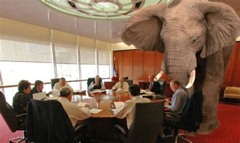 what does the elephant in the room excess copyright access copyright and absent universities colleges as the mandatory
