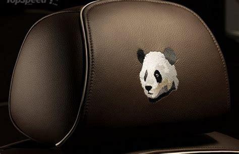 roll royce panda rolls royce ghost chengdu panda extravaganzi