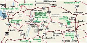 road map of utah and colorado dinosaur maps npmaps just free maps period