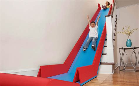 Foldable Stairs The Sliderider Turns Stairs Into A Slide Incredible Things