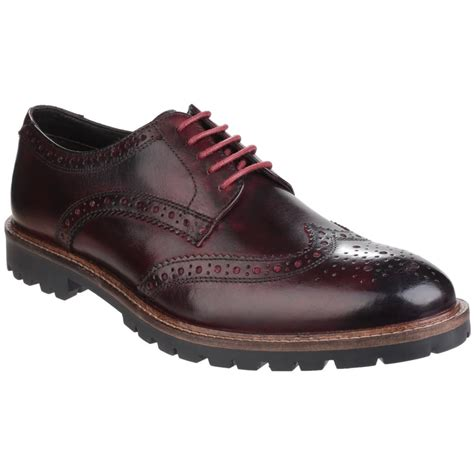 base trench lace up brogue shoe s bordo shoes