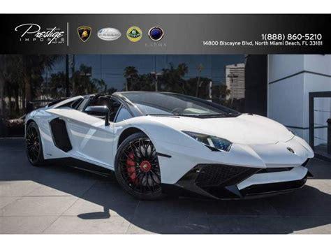 Lamborghini Superveloce For Sale 2017 Lamborghini Aventador Superveloce For Sale Gc 25470