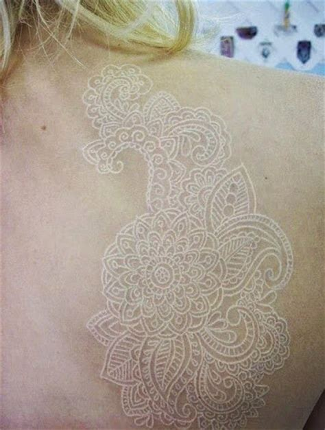 white lace tattoos temporary tattoo blog