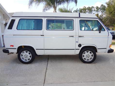 volkswagen vanagon 1987 1987 volkswagen vanagon westfalia cer van vw
