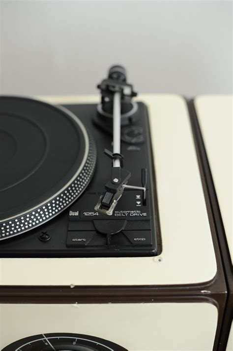 Radio Player St Q 25 vintage brionvega rr 126 fo st design record player