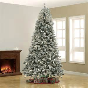 shop for the holiday time pre lit frost christmas tree at