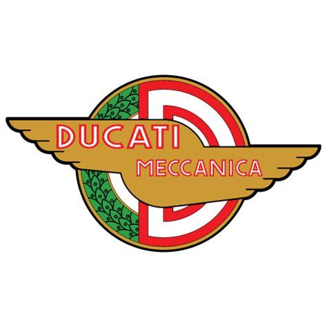 Ducati Sticker Logo by Ducati Meccanica Logo Decal
