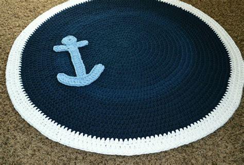 nautical nursery rug nautical anchor crochet nursery rug playroom rug area rug