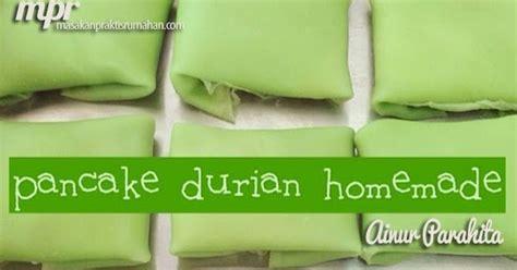 cara membuat whipped cream untuk pancake durian resep pancake durian homemade resep masakan praktis