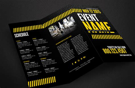 20 Cool Event Brochure Templates Event Booklet Template
