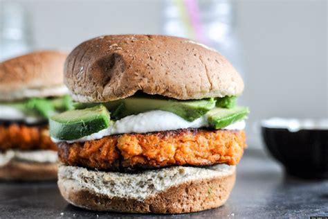 vegetarian burger recipe dishmaps